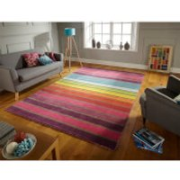 Flair Illusion Candy Rug - Multi - 60X230cm