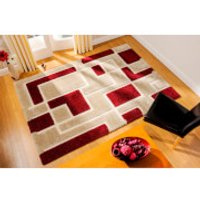Flair Venice Imperial Rug - Red/Beige - 80X150cm