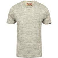 Tokyo Laundry Mens Textured Grotto T-Shirt - Grey Marl - L