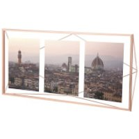 Umbra Prisma Three Photo Frame Display - Copper - Umbra Gifts