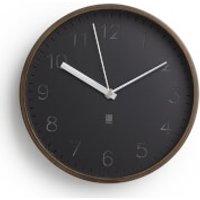 Umbra Rimwood Wall Clock - Aged Walnut