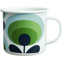 Orla Kiely Enamel Mug 70s Flower - Apple
