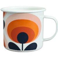 Orla Kiely Enamel Mug 70's Flower - Permission - Kitchen Gifts