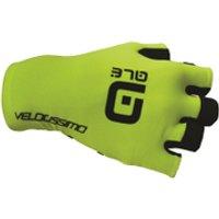 Ale Chrono Gloves - Yellow/Black - L - Yellow/Black