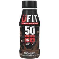 UFIT High Protein Milkshake - 6 x 500ml - 6 x 500ml - Chocolate
