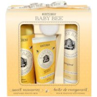 Burts Bees Baby Bee Sweet Memories Gift Set with Keepsake Photo Box