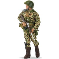 Action Man Paratrooper Figure