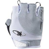 Lizard Skins Aramus Elite Gloves - Titanium - L - White