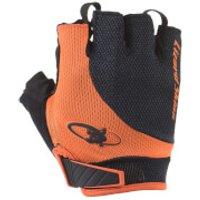 Lizard Skins Aramus Elite Gloves - Jet Black/Tangerine - M - Black/Orange