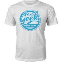 Geek Since 1990's T-Shirt- White - XL - 1995