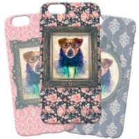 Dog Phonecase - Samsung Galaxy S6 - Floral