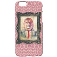 Lion Portrait Phone Case for iPhone and Android - iPhone 5 - Regal Pink - Iphone 5 Gifts