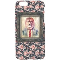 Lion Portrait Phone Case for iPhone and Android - iPhone 5 - Floral - Iphone 5 Gifts