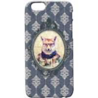 Fox Portrait Phone Case for iPhone and Android - iPhone 5 - Regal Blue - Iphone 5 Gifts