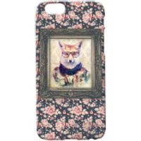 Fox Portrait Phone Case for iPhone and Android - iPhone 5 - Floral - Iphone 5 Gifts