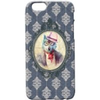 Wolf Portrait Phone Case for iPhone and Android - iPhone 5 - Regal Blue - Iphone 5 Gifts