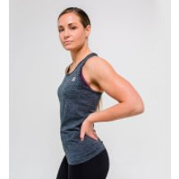 XL - Seamless Vest Tank Top - Charcoal