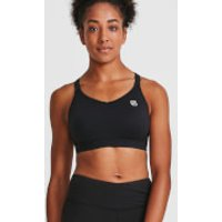 IdealFit Core Sports Bra - Black - M - Black