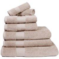 Restmor 100% Egyptian Cotton 7 Piece Supreme Towel Bale Set (500gsm) - Latte