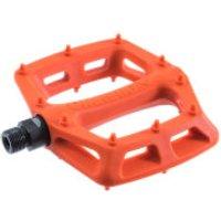 DMR V6 Plastic Flat Pedal - Orange