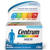 Centrum Men Multivitamin Tablets - (30 Tablets)