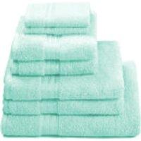 Restmor 100% Egyptian Cotton 7 Piece Supreme Towel Bale Set (500gsm) - Seafoam