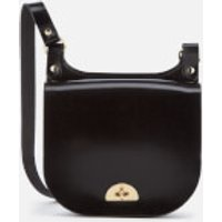 The Cambridge Satchel Company Womens Small Conductors Bag - Black Patent