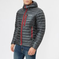 Montane Men's Featherlite Down Jacket - Shadow/Alpine Red - M - Grey