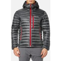 Montane Mens Featherlite Down Jacket - Shadow/Alpine Red - L - Grey