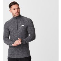 Performance Long-Sleeve ¼ Zip-Top - XS - Black