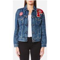 Ralph Lauren Women's Denim Trucker Jacket - Medium Indigo - S - Blue