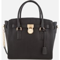 MICHAEL MICHAEL KORS Women's Hamilton Large East West Satchel - Black