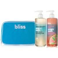 bliss Soapy Suds Bath Body Wash Duo
