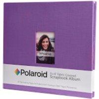 Polaroid 8x8 Inch Fabric Covered Scrapbook Album