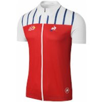 Le Coq Sportif Tour de France Dedicated Jersey 2017 - Red/White - S - Red/White