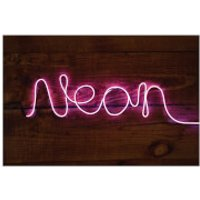 Make Your Own Neon Light - Pink