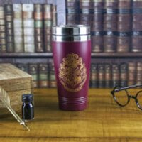 Harry Potter Hogwarts Travel Mug - Burgundy - Harry Potter Gifts