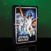 Star Wars: Episode IV: A New Hope 12 Inch Luminart Canvas
