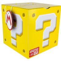 Nintendo Super Mario Question Block Money Box - Yellow - Money Box Gifts