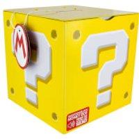 Nintendo Super Mario Question Block Money Box - Yellow