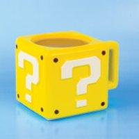 Taza Nintendo Super Mario  Bloque Interrogación - Amarillo