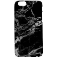 Marble Texture Phone Case for iPhone and Android - Black Marbles - iPhone 6 Plus - Black Marble 5