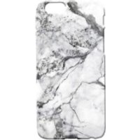 Marble Texture Phone Case for iPhone and Android - White Marbles - iPhone 6/6s - White Marble 6