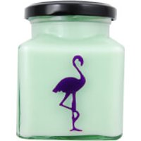 Asian Pear and Plum Flamingo Candle