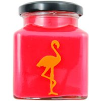 Cranberry, Orange and Cinnamon Explosion Flamingo Candle - Cinnamon Gifts