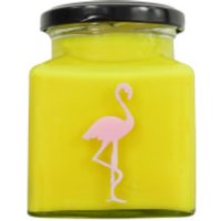 Banana Pancakes Flamingo Candle