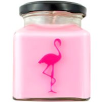 Oriental Lotus and Rose Otto Flamingo Candle