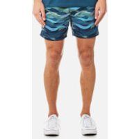 BOSS Hugo Boss Mens Piranha Swim Shorts - Open Blue - M - Blue