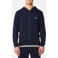 BOSS Hugo Boss Mens Hooded Jacket - Dark Blue - XL - Blue