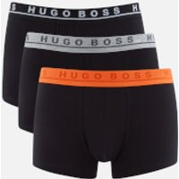 BOSS Hugo Boss Mens 3 Pack Trunks - Black - L - Black
